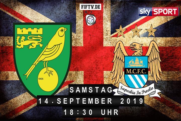 Norwich City - Manchester City Spielankündigung