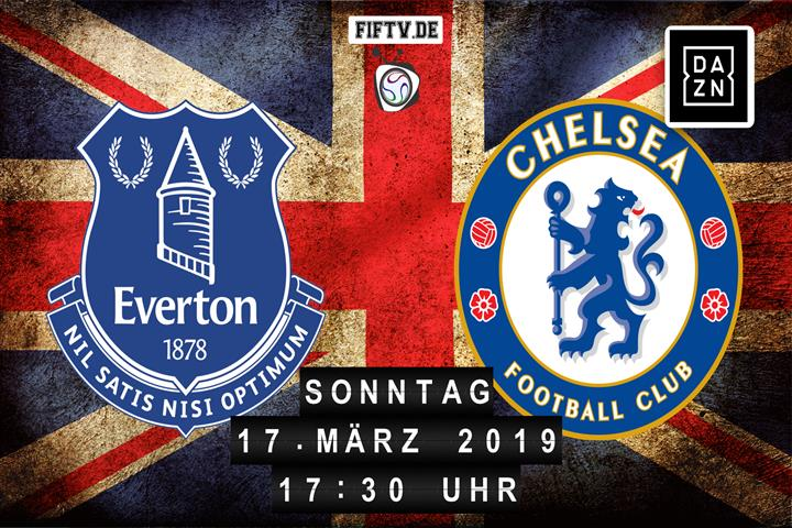 Everton FC - Chelsea London Spielankündigung