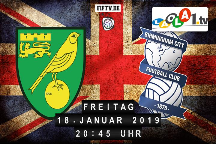 Norwich City FC - Birmingham City FC Spielankündigung