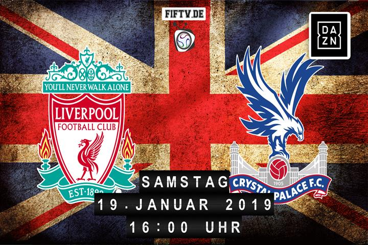FC Liverpool - Crystal Palace Spielankündigung