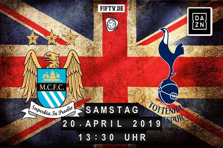 Manchester City - Tottenham Hotspur Spielankündigung