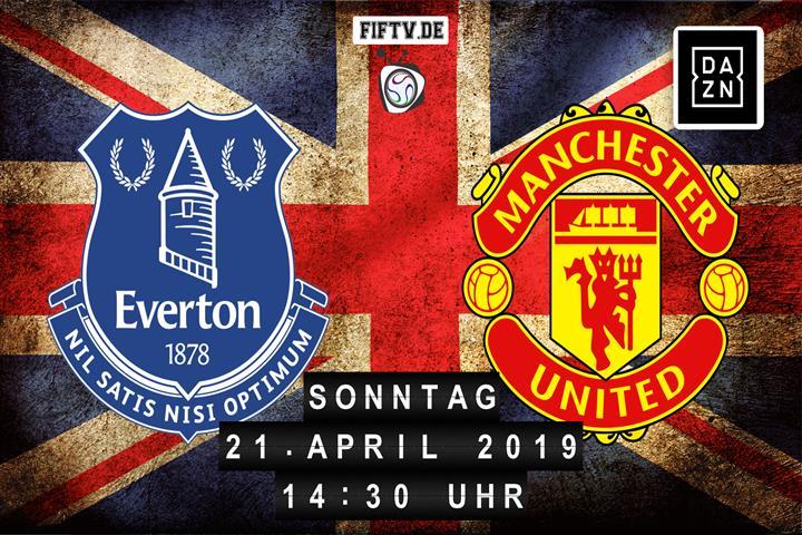 Everton FC - Manchester United Spielankündigung