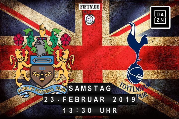 Burnley FC - Tottenham Hotspur Spielankündigung