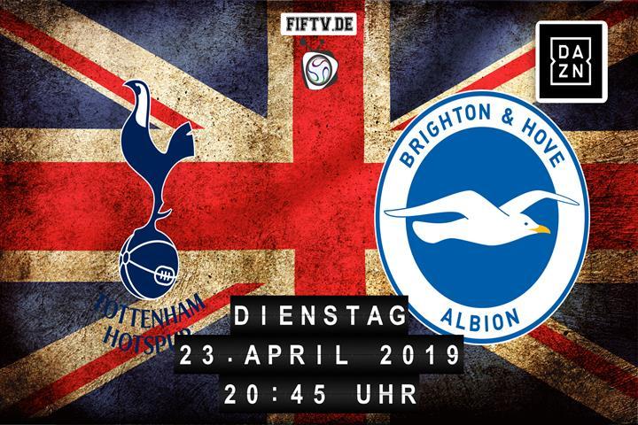 Tottenham Hotspur - Brighton & Hove Albion Spielankündigung