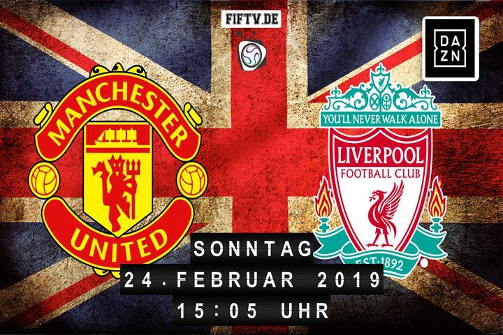 Manchester United - FC Liverpool Spielankündigung