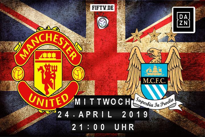 Manchester United - Manchester City Spielankündigung
