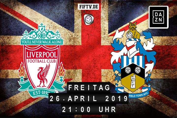 FC Liverpool - Huddersfield Town Spielankündigung