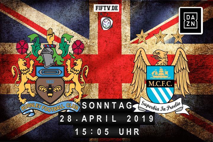 Burnley FC - Manchester City Spielankündigung