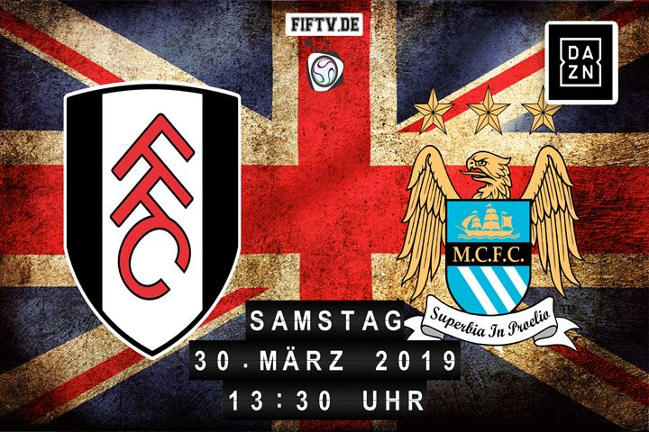 FC Fulham - Manchester City Spielankündigung