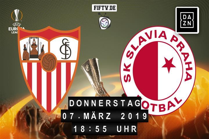 Sevilla FC - Slavia Prag Spielankündigung