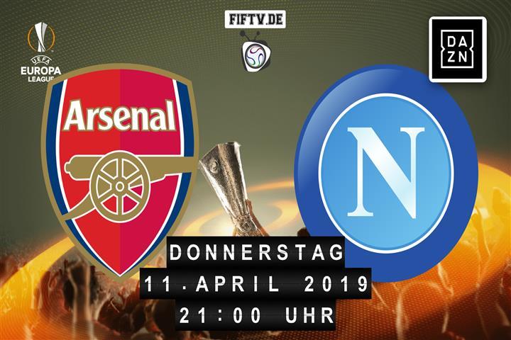 Arsenal London - SSC Neapel Spielankündigung