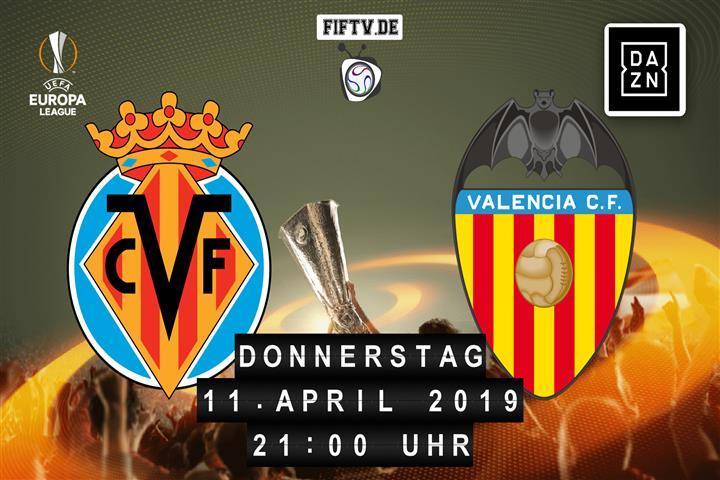 Villarreal FC - Valencia FC Spielankündigung