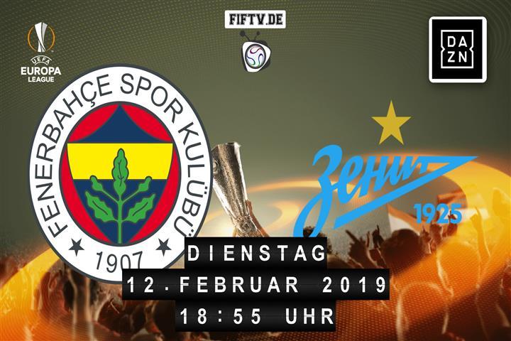 Fenerbahce Istanbul - Zenit Sankt Petersburg Spielankündigung