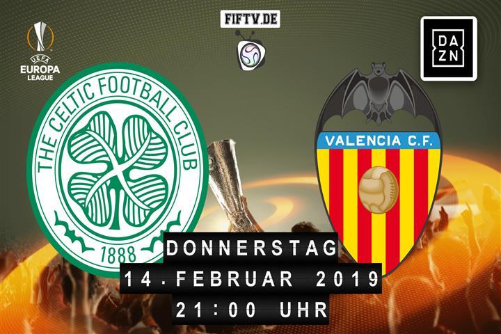 Celtic Glasgow - Valencia FC Spielankündigung