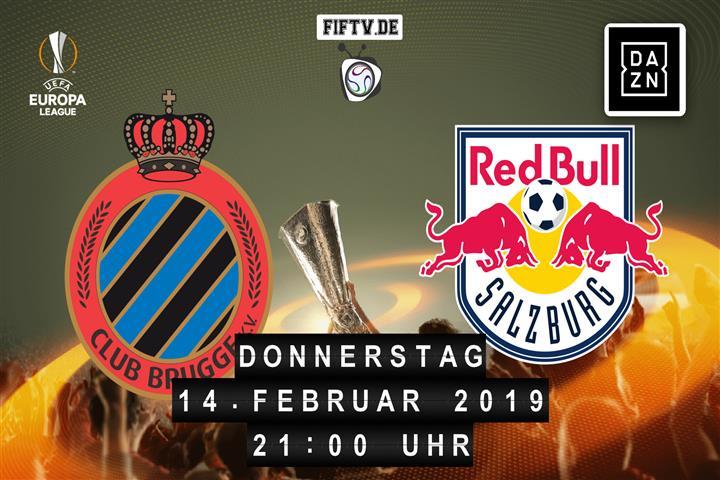 FC Brügge - RB Salzburg Spielankündigung