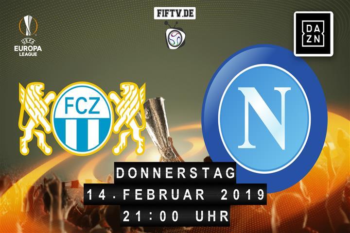FC Zürich - SSC Neapel Spielankündigung