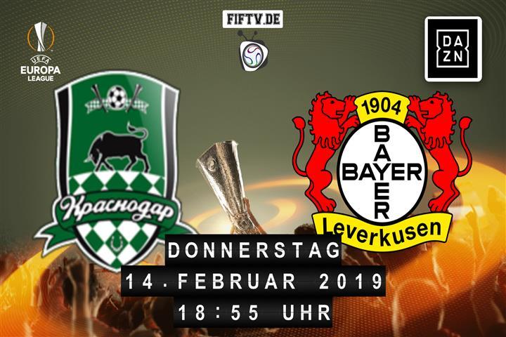 FK Krasnodar - Bayer Leverkusen Spielankündigung