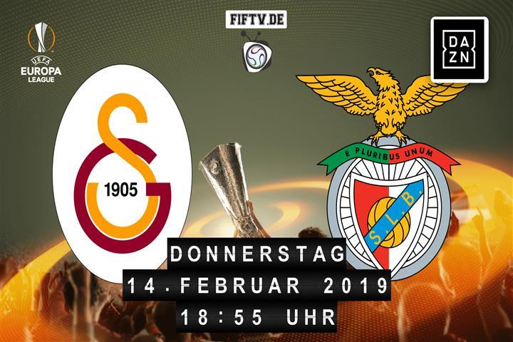 Galatasaray Istanbul - Benfica Lissabon Spielankündigung