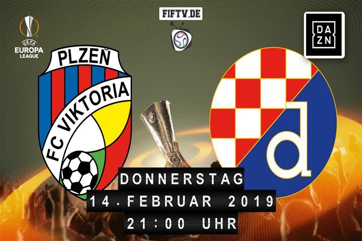 Pilsen - Zagreb Spielankündigung