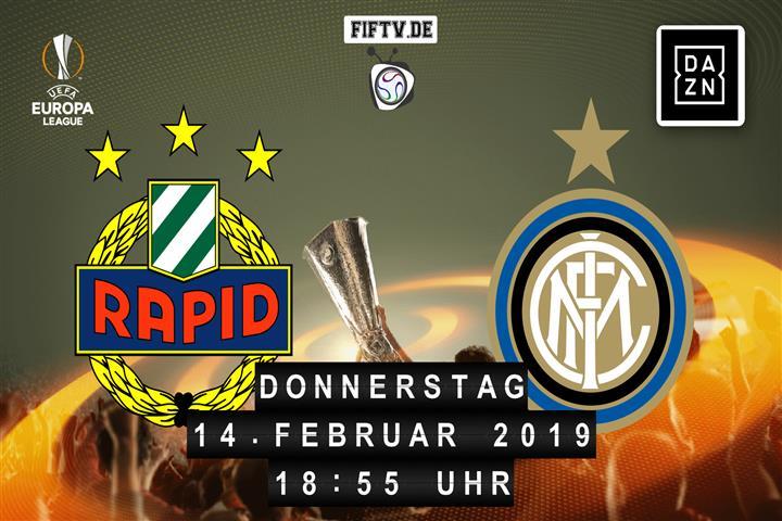 Rapid Wien - Inter Mailand Spielankündigung