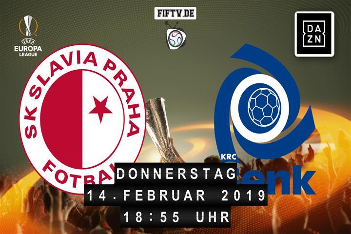 Slavia Prag - Racing Genk Spielankündigung