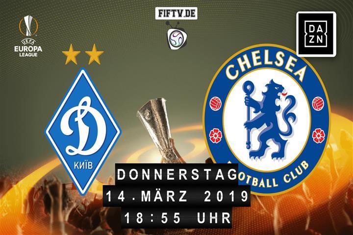 Dynamo Kiew - Chelsea London Spielankündigung