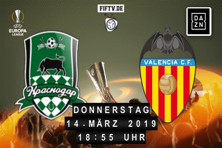 FK Krasnodar - Valencia FC Spielankündigung