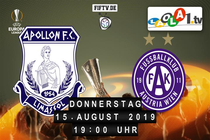 Apollon Limassol  - FK Austria Wien Spielankündigung
