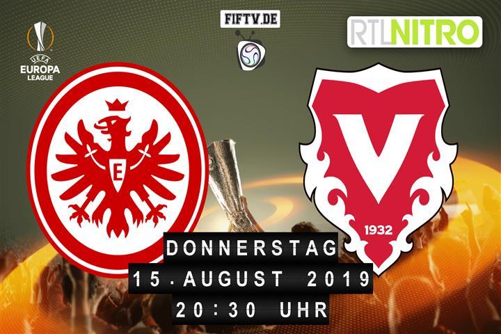 Eintracht Frankfurt - FC Vaduz Spielankündigung