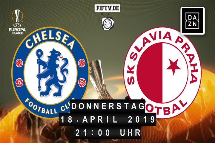 Chelsea London - Slavia Prag Spielankündigung