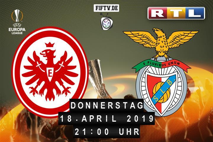 Eintracht Frankfurt - Benfica Lissabon Spielankündigung