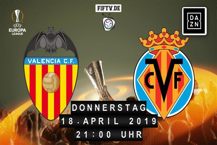 Valencia FC - Villarreal FC Spielankündigung
