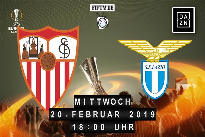 FC Sevilla - Lazio Rom Spielankündigung