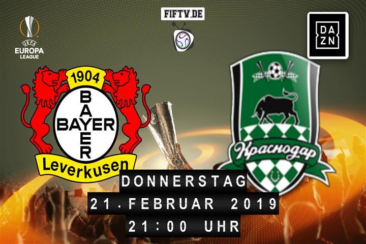 Bayer Leverkusen - FK Krasnodar Spielankündigung