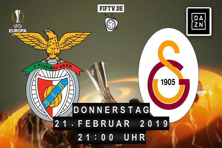 Benfica Lissabon - Galatasaray Istanbul Spielankündigung