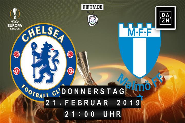 Chelsea London - Malmö FF Spielankündigung