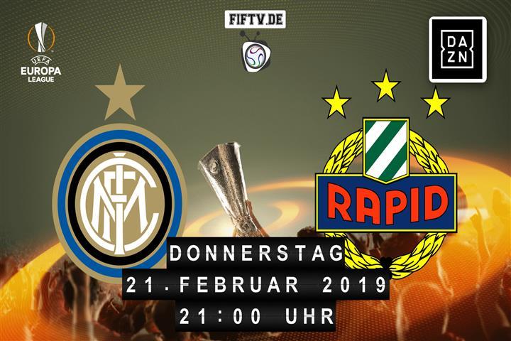 Inter Mailand - Rapid Wien Spielankündigung