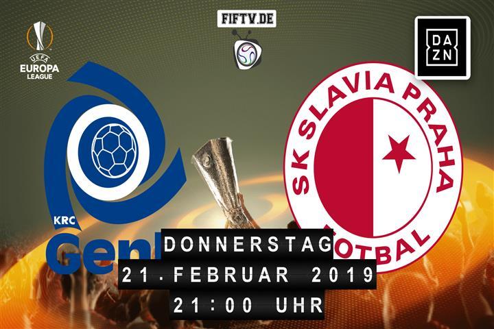 Racing Genk - Slavia Prag Spielankündigung