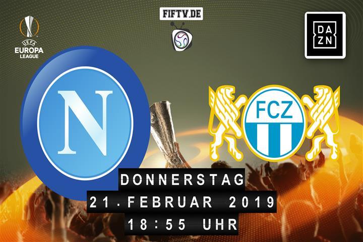 SSC Neapel - FC Zürich Spielankündigung