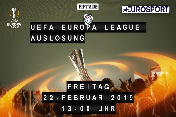 UEFA Europa League Auslosung Spielankündigung