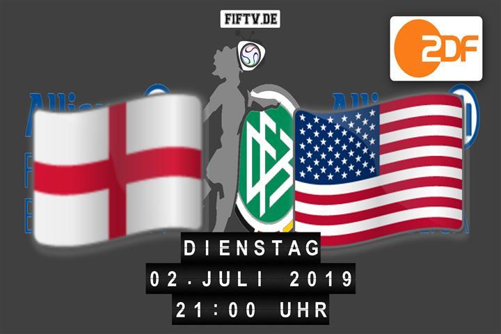 England - USA Spielankündigung