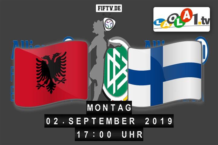 Albanien - Finnland Spielankündigung