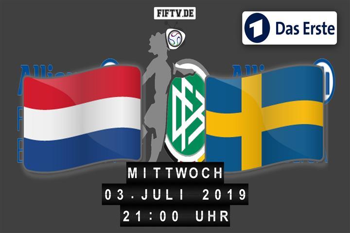 Niederlande - Schweden Spielankündigung