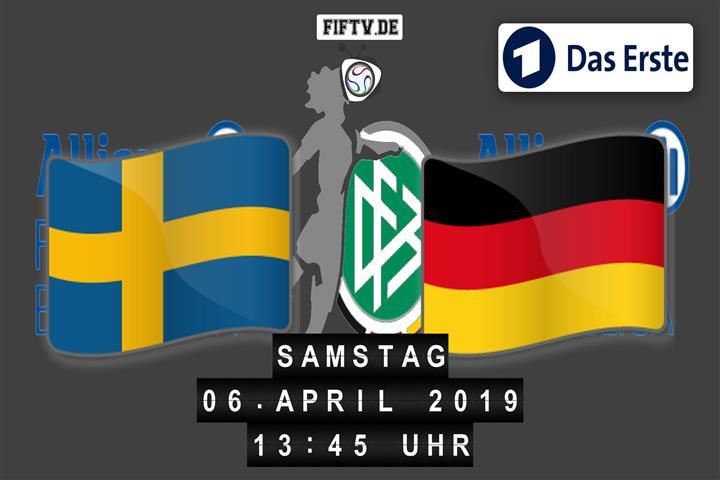 Schweden - Deutschland Spielankündigung