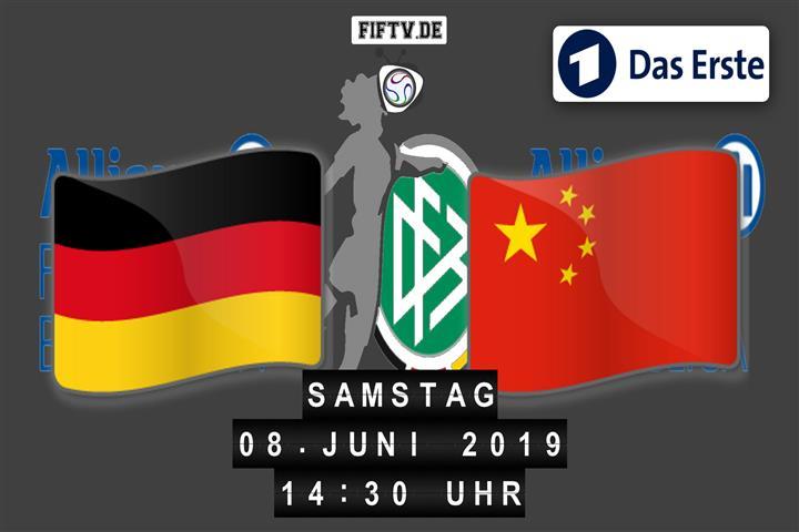 Deutschland - China Spielankündigung