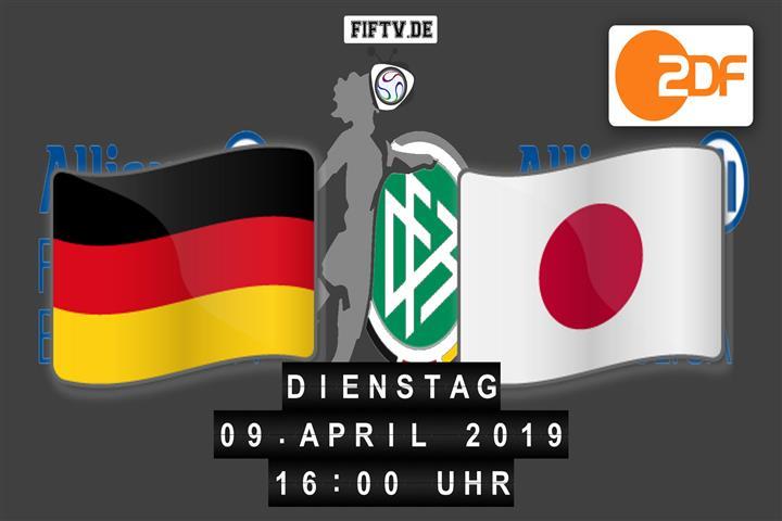 Deutschland - Japan Spielankündigung