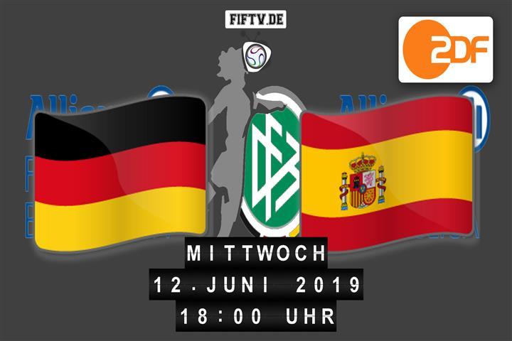Deutschland - Spanien Spielankündigung