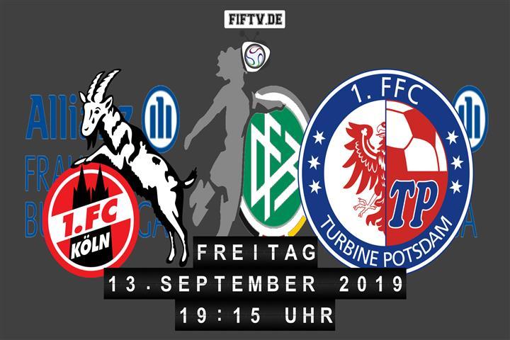 1.FC Köln - Turbine Potsdam Spielankündigung