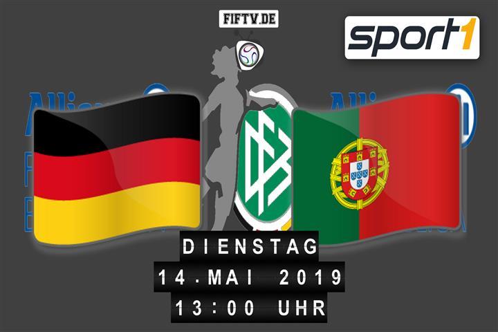 U17 EM Halbfinale: Deutschland - Portugal Spielankündigung