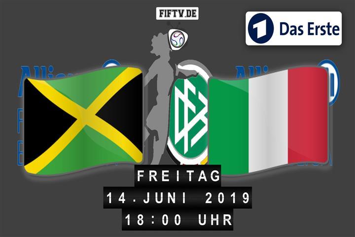 Jamaika - Italien Spielankündigung
